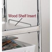 Charnstrom Laminated Wood Shelf Insert; 30.75'' H x 15.5'' W x 0.25'' D