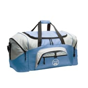 Outer Style 27.25'' Travel Duffel; Light Blue