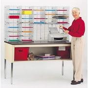 Charnstrom 28 Pockets Double Organizer; 32.25'' H x 60'' W x 15'' D