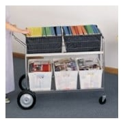 Charnstrom Jumbo Mail Distribution File Cart