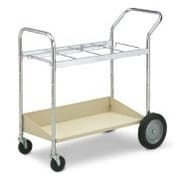 Charnstrom Medium Utility Cart with Lower Shelf