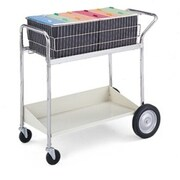 Charnstrom Medium Basket File Cart with Lower Shelf