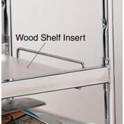 Charnstrom Laminated Wood Shelf Insert; 39.75'' H x 15.5'' W x 0.25'' D