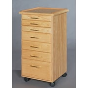 SMIProducts Classic 7 Drawer Vertical File; Natural Oak (Standard)