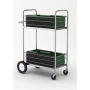 Charnstrom Tall Medium Double Decker File Cart