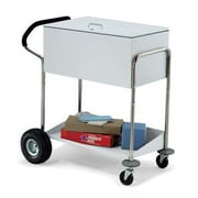 Charnstrom Security Medium File Cart w/ Locking Top