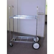 Charnstrom Medium Double-Decker File Cart