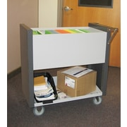Charnstrom Medium File Cart with Casters