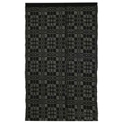 Homespice Decor Thistle Black/Light Grey Indoor/Outdoor Area Rug; 8' x 10'