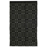 Homespice Decor Thistle Black/Light Grey Indoor/Outdoor Area Rug; 6' x 9'