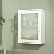 TMS Frosted Pane Wall Cabinet