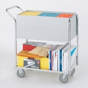 Charnstrom Medium Solid File Cart with Casters