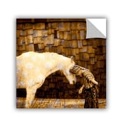 ArtWall Horse Whisperer by Elena Ray Art Appeelz Removable Wall Mural; 18'' H x 18'' W x 0.1'' D