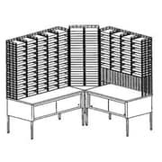 Charnstrom ''L'' Shape 116 Pockets with Riser and Storage Tables