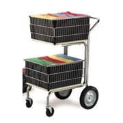 Charnstrom Compact File Cart with 2 Baskets