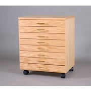 SMIProducts Vanguard 22.25'' Storage Cabinet; Natural Oak (Standard)