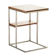 Moe's Home Collection Posta End Table; Walnut