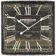 Yosemite Home Decor Wall Clock III; Black