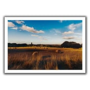 ArtWall 'Open Fields' by John Black Canvas Poster; 20'' H x 28'' W