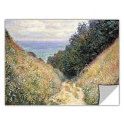 ArtWall ArtApeelz 'Footpath' by Claude Monet Painting Print Removable Wall Decal
