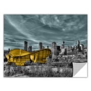 ArtWall ArtApeelz 'Calgary' by Revolver Ocelot Photographic Print Removable Wall Decal