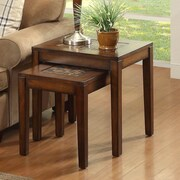 Woodbridge Home Designs Antoni 2 Piece Nesting Tables