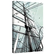 ArtWall 'Sailing on Star of India II' by Linda Parker Gallery Wrapped on Canvas; 24'' H x 36'' W
