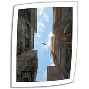ArtWall Afternoon Alley' by Cynthia Decker Photographic Print on Rolled Canvas; 36'' H x 28'' W