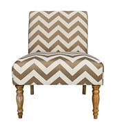 angelo:HOME Bradstreet Side Chair; Brown