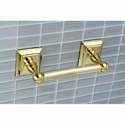 Kingston Brass Millennium Wall Mounted Toilet Paper Holder; Polished Brass