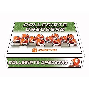 Rico NCAA Checker Set; Clemson