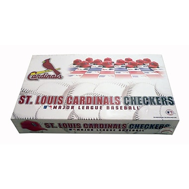 Rico MLB Checker Set; St. Louis Cardinals