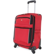 Wenger Swiss Gear 20'' Spinner Suitcase; Red/Black