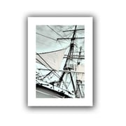 ArtWall Sailing on Star of India III' by Linda Parker Photographic Print on Rolled Canvas