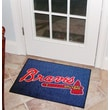 FANMATS MLB Atlanta Braves All-Star Mat; 1'8'' x 2'6''