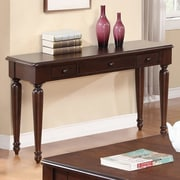 Winners Only, Inc. Regal Console Table; Molasses