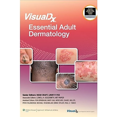 VisualDx: Essential Adult Dermatology (VisualDx: The Modern Library of Visual Medicine), Used Book (9781608318056)