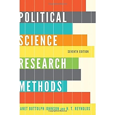 Political Science Research Methods, New Book (9781608716890)