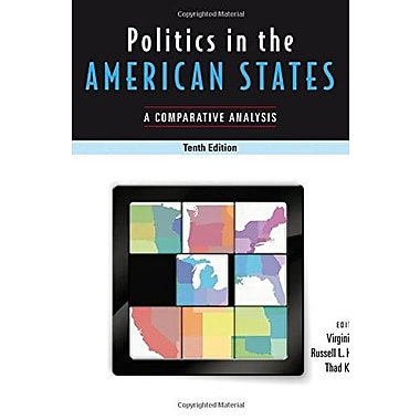 Politics In The American States: A Comparative Analysis, New Book (9781608719983)
