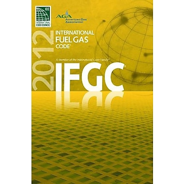 2012 International Fuel Gas Code, Used Book (9781609830496)