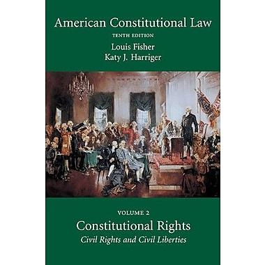 American Constitutional Law, Volume Two: Constitutional Rights, Used (9781611633542)