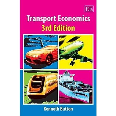 Transport Economics, 3rd Edition, New Book (9781840641912)
