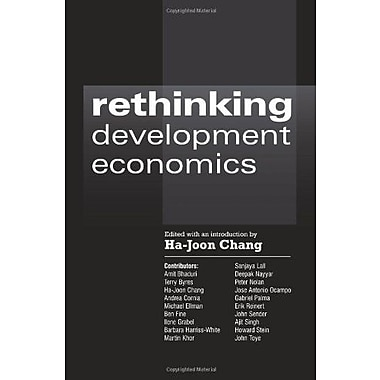 Rethinking Development Economics (Anthem Frontiers of Global Political Economy), Used Book (9781843311102)
