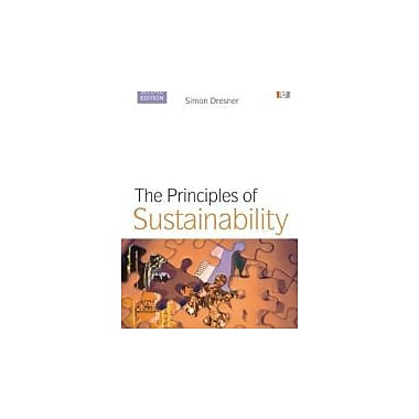 The Principles of Sustainability, New Book (9781844074969)