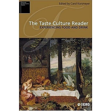 The Taste Culture Reader: Experiencing Food and Drink (Sensory Formations), New Book (9781845200619)