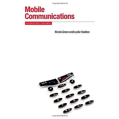 Mobile Communications: An Introduction to New Media (Berg New Media Series), New Book (9781845208141)