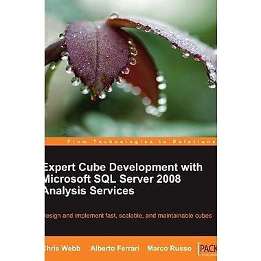 Expert Cube Development with Microsoft SQL Server 2008 Analysis Services, New Book (9781847197221)