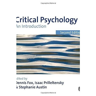 Critical Psychology: An Introduction