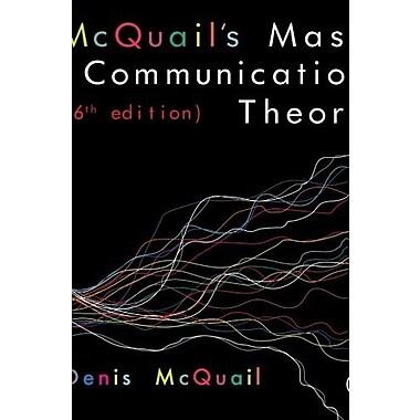 McQuail's Mass Communication Theory, Used Book (9781849202923)