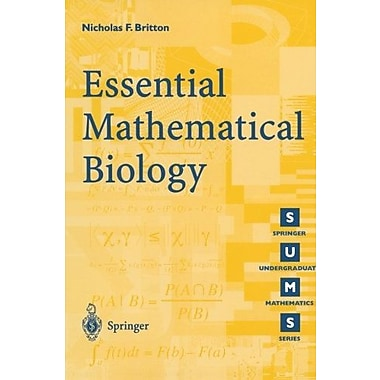 Essential Mathematical Biology, New Book (9781852335366)